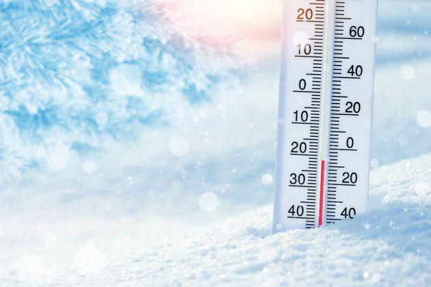 Θερμοκρασία ρεκόρ από τη «Μήδεια» στους μείον 25,1
