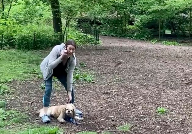 Amy Cooper dans la vidéo diffusée le 25 mai