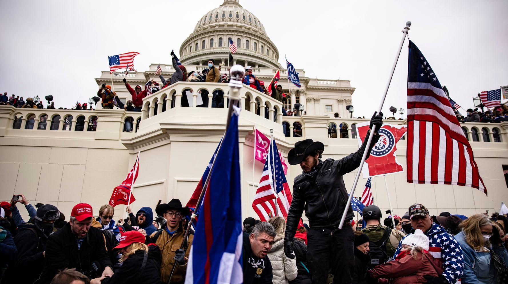Republicans Have Emerged From The Capitol Insurrection United Against Democracy