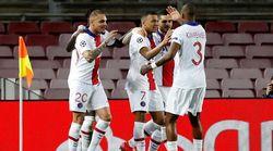 Mbappé, con un triplete, fulmina al Barça en la ida de octavos de Champions