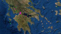 Δύο σεισμοί άνω των 4 Ρίχτερ με επίκεντρο κοντά στη