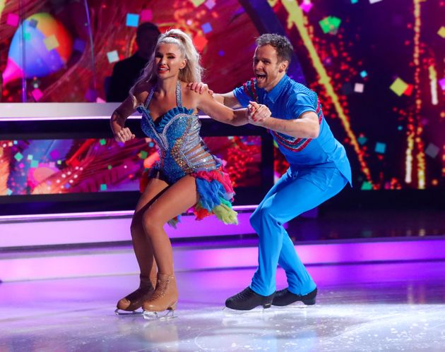 Billie Shepherd and her partner Mark