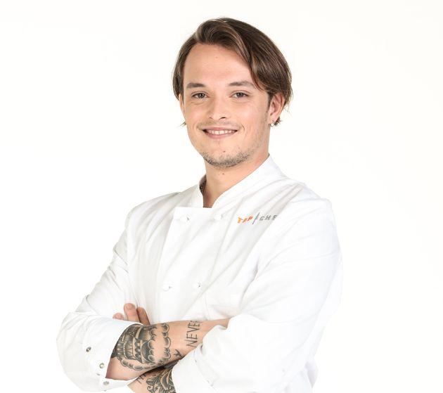 """Jarvis Scott, candidat éliminé de la compétition de """"Top Chef"""""""