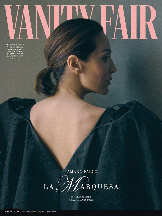 Portada de la revista Vanity Fair de marzo de 2021