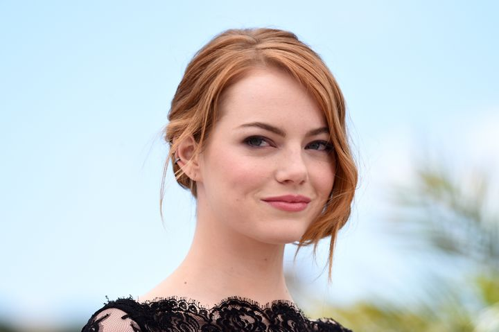 Emma Stone at the Cannes Film Festival in May 2015 in France.