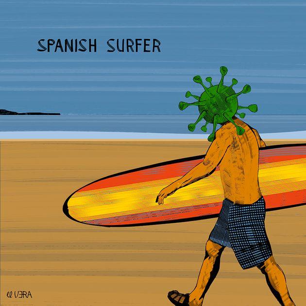 Viñeta 'Surfin'