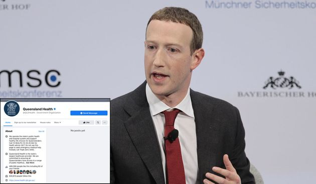 Mark Zuckerberg has banned the pages of health departments and weather sites as part of his news ban...