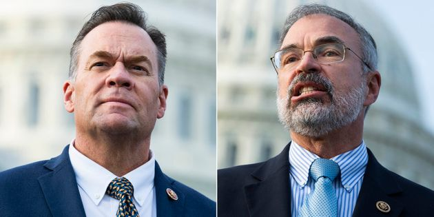Rep. Russ Fulcher (R-Idaho), left, and Rep. Andy Harris (R-Md.) have come under scrutiny for incidents...