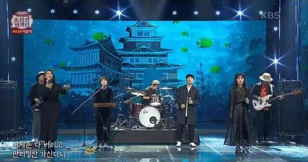 KBS2 '조선팝 어게인' 국악 퓨전 밴드 '이날치'