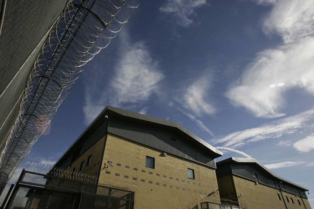 Colnbrook Immigration Removal Centre near London's Heathrow Airport, run by private firm