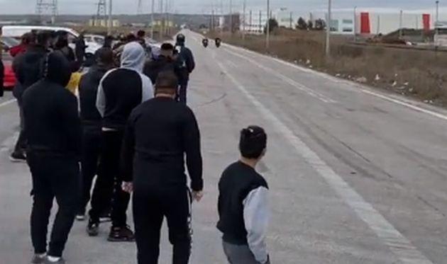 Θεσσαλονίκη: Αγώνες drift και επικίνδυνες κόντρες με εκατοντάδες θεατές εν μέσω