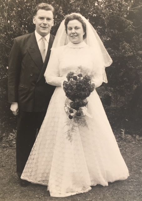 A photo from John and Irene's wedding album