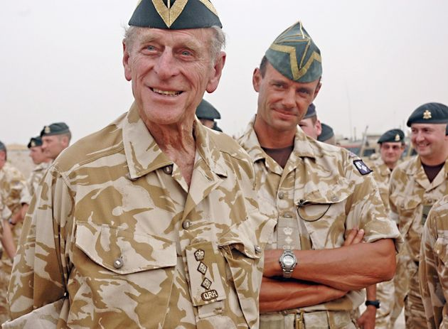 The duke served in the forces and paid a surprise visit to Iraq to see British troops serving in Basra...