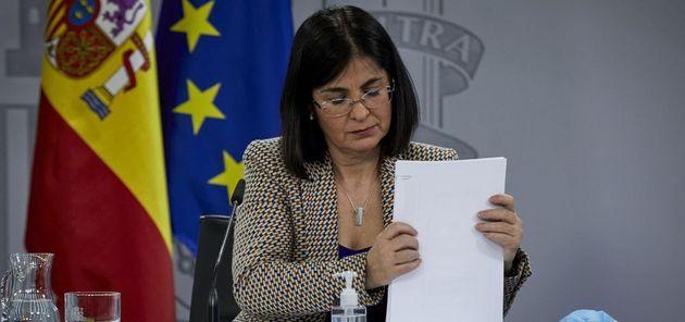 La ministra Carolina
