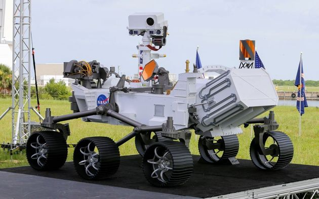 El rover Perseverance antes de su