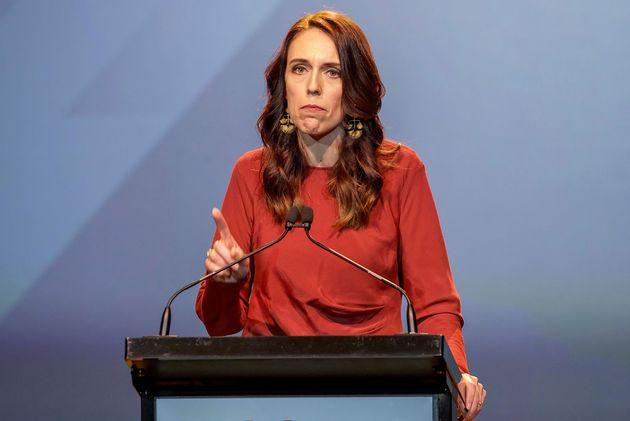 La primera ministra neozelandesa, Jacinta
