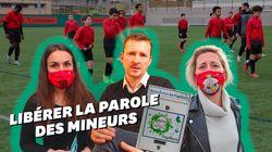À Nice, une asso et l'école de foot de l'OGC Nice s'unissent contre les violences sexuelles sur