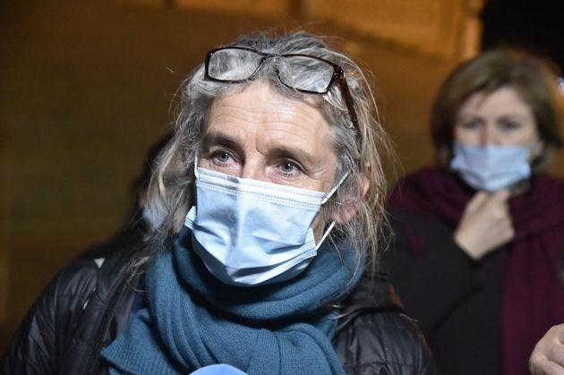 Francoise Grandclaude, la femme d'Hervé Gourdel s'exprimait le 18 février 2021 devant le...