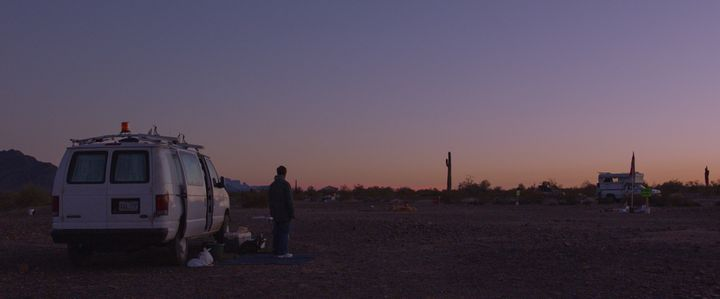 "McDormand in director Chloé Zhao's ""Nomadland."""