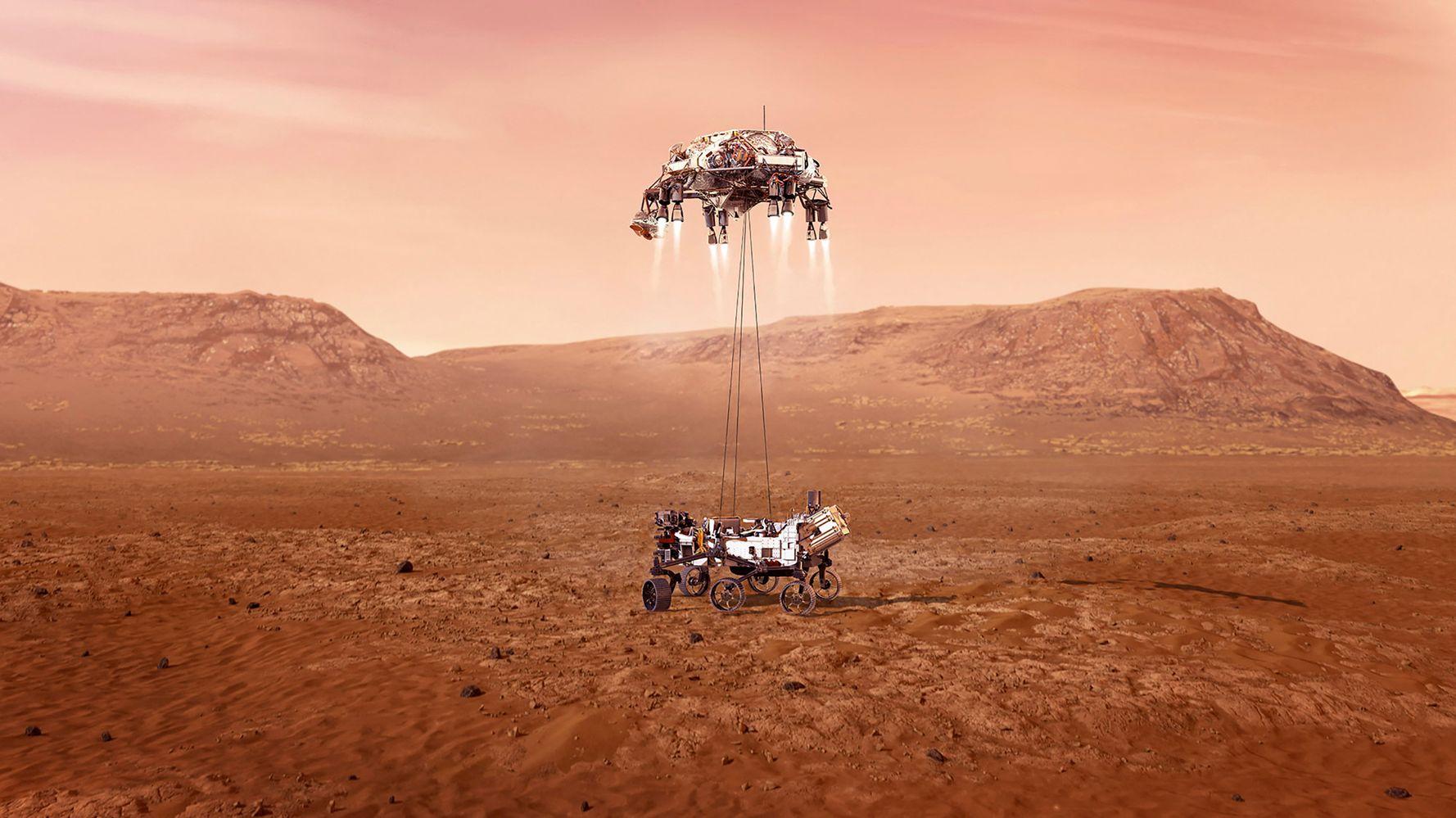 Atterrissage de Perseverance sur Mars réussi, voici les images