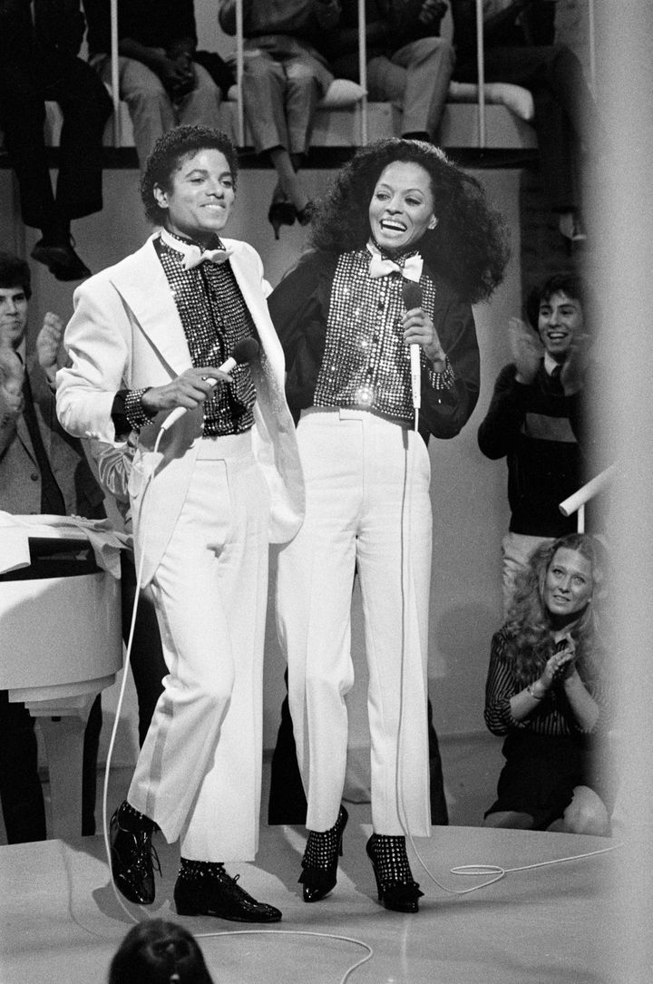 "Michael Jackson and Diana Ross twinned it up on ""Diana"" a Diana Ross television special, originally broadcast on CBS, March 2, 1981."