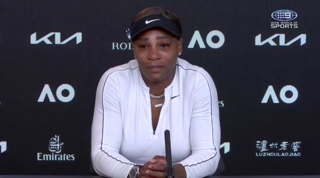 Serena Williams walks out of her Australian Open press conference on