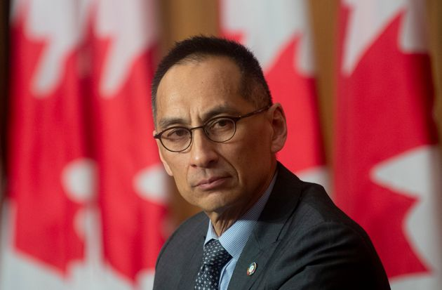 Deputy Chief Public Health Officer Howard Njoo is seen during a news conference on Jan. 14, 2021 in Ottawa.