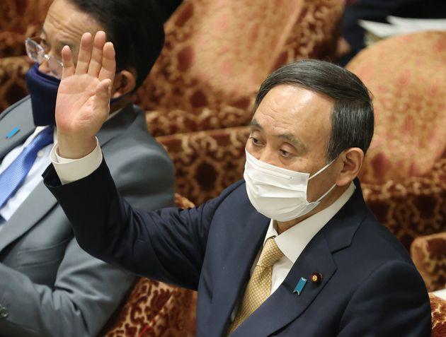 の 菅 長男 首相