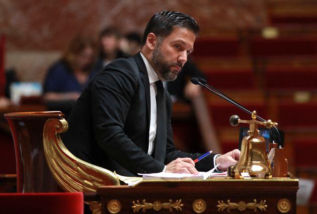 Hugues Renson, député LREM de Paris et vice-président de l'Assemblée