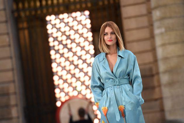 Caroline Receveur, à Paris, en septembre