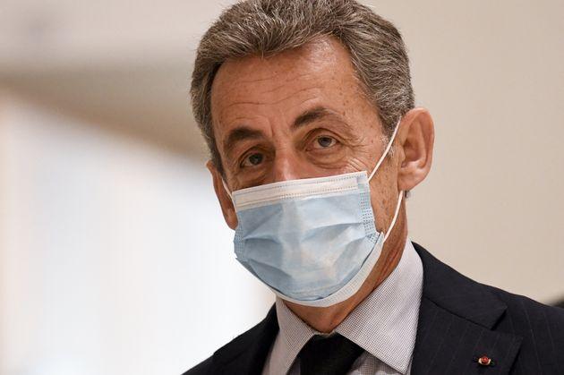 Nicolas Sarkozy au tribunal de Paris le 10 décembre