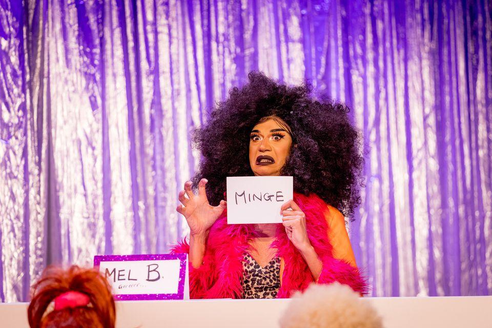 Tia Kofi as Mel B in the Snatch