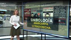 Sandra Golpe pide perdón por esta imagen en 'Antena 3 Noticias':