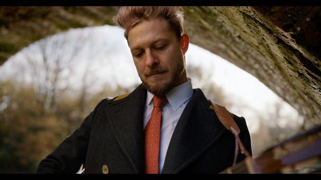 Singer Benjamin Scheuer unveiled his new single,