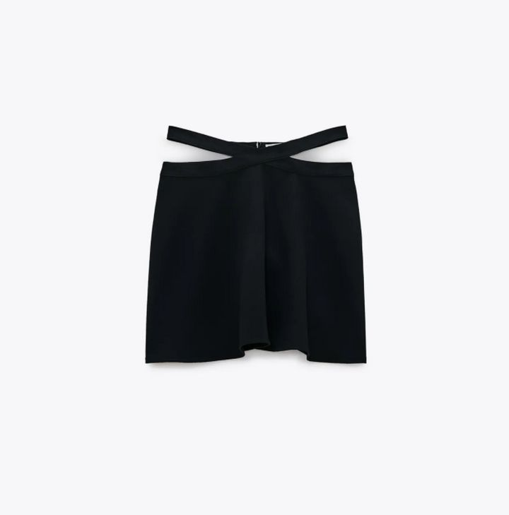 Minifalda de Zara.