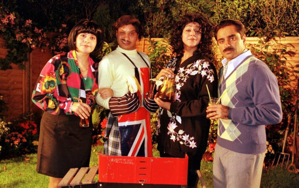 The cast of Goodness Gracious Me, which had its final episode air on BBC Two in February