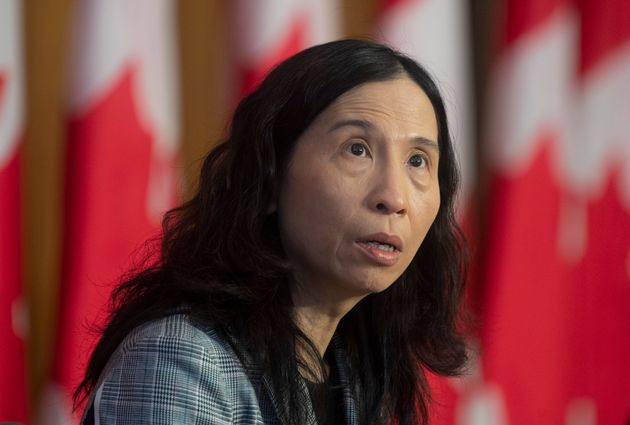 Dr. Theresa Tam, Canada's chief public health officer, speaks during a technical briefing...
