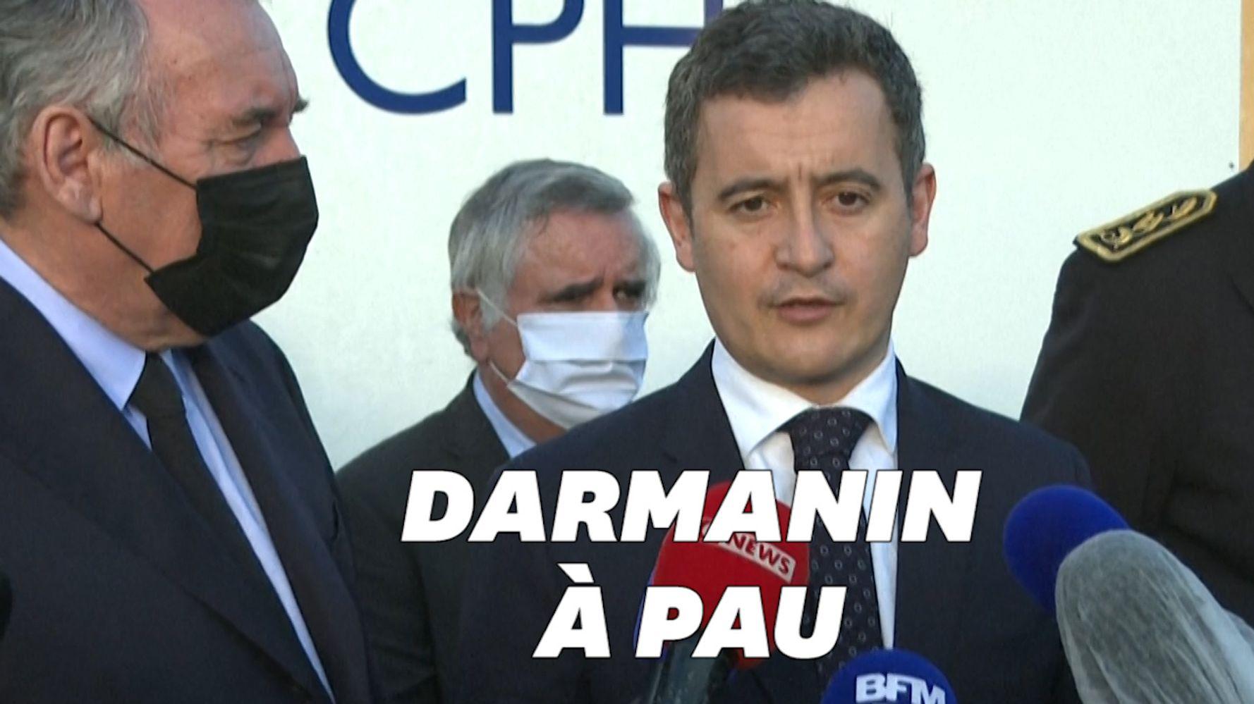 À Pau, Gérald Darmanin dit