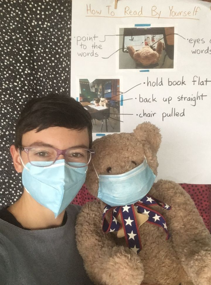 Rosamund Looney, who teaches first grade in Jefferson Parish, Louisiana, said that because of the stresses of the pandemic an