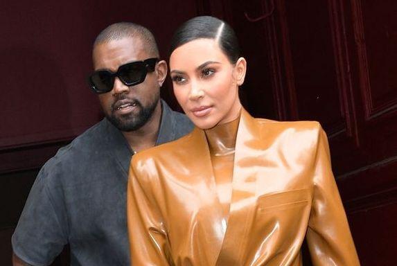 Kim y Kanye, hace apenas unos
