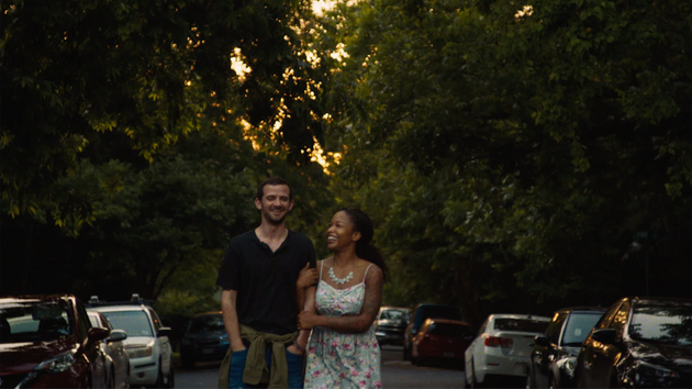 Brittany S. Hall and Will Brill in a scene from