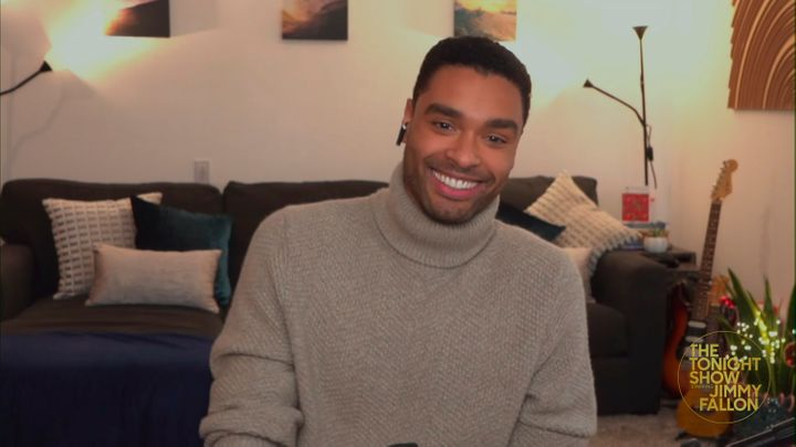 Regé-Jean Page during an interview on Jan. 8, 2021.