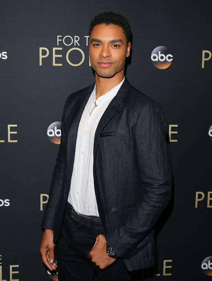 """Rege-Jean Page at the premiere of ABC's """"For The People"""" in West Hollywood on March 10, 2018."""