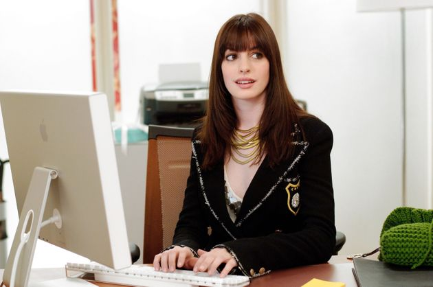 Anne Hathaway as Andy in The Devil Wears