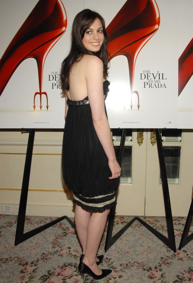 Anne at a Devil Wears Prada screening in