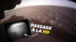 Perseverance envoie ses premières photos de Mars en