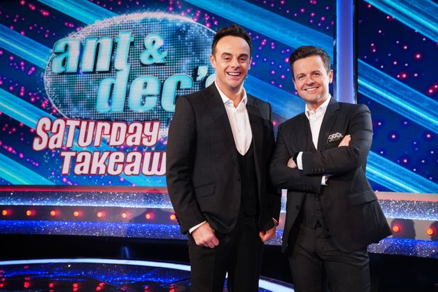 Ant and Dec are back in the Saturday Night Takeaway studio – but they won't be joined by an