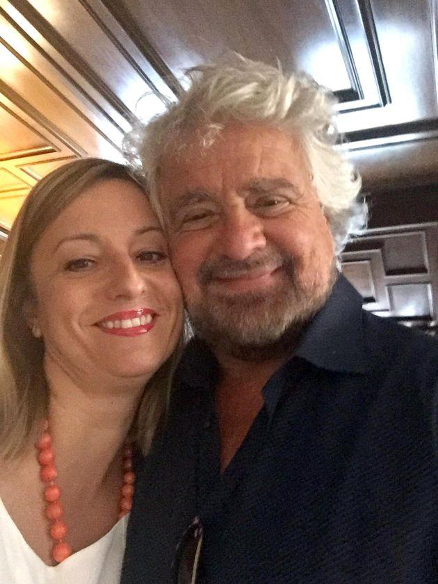 Roberta Lombardi e Beppe
