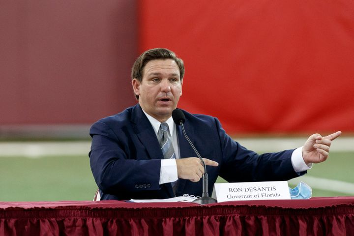 Florida Gov. Ron DeSantis on Friday proposed an array of voting changes.