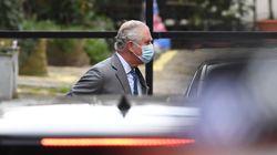 Prince Charles Arrives At Hospital Treating Prince